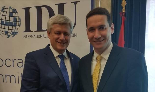 Ѓорчевдо Харпер:Честитки за изборот за претседател на ИДУ, благодарностшто како премиер на Канада ја признавте Република Македонија под уставното име