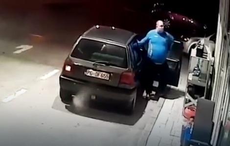 ВИДЕО: Црногорец застана да наточи гориво, а потоа направи нешто поради кое му се смее цел Балкан