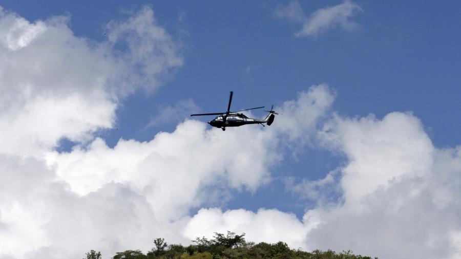 ВИДЕО: По земјотресот во Мексико се урна хеликоптерот во кој бил министерот за внатрешни работи