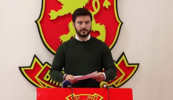 ВМРО-ДПМНЕ: Во Македонија се изрекуваат затворски казни заради напишан новинарски текст