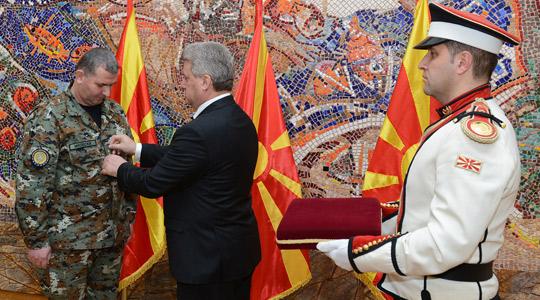 Зоран Милевски унапреден во чин генерал-мајор