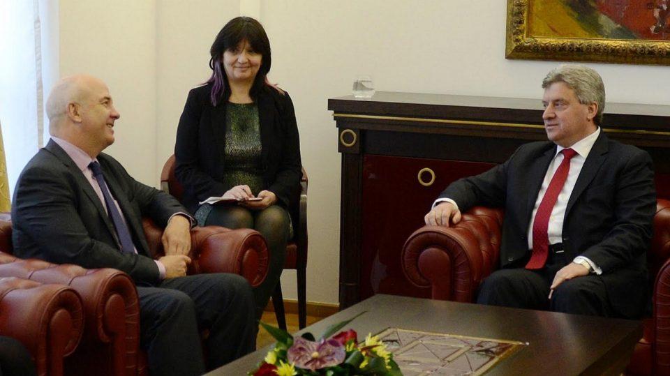 Иванов оствари средба со Комесарот за човекови права на Советот на Европа