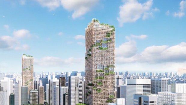 ФОТО ГАЛЕРИЈА: Ова ќе биде највисоката зграда на светот направена од дрва, ќе има 70 ката