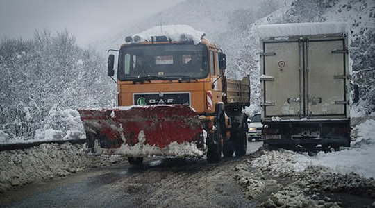 Укината забраната за камиони на превојот Ѓавато