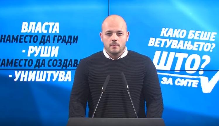 Костовски: Отстранување на споменикот Ќосето е резултат на спроведување на договорот со Бугарија- Што се уште ветил Заев,а граѓаните не знаат?