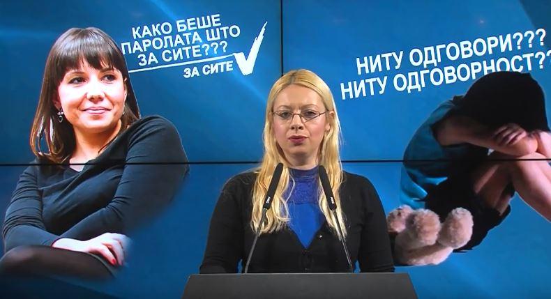 """ВМРО-ДПМНЕ и јавноста се згрозени од неодговорноста на надлежните за скандалот со сексуално злоставување на малолетно девојче од ЈУ """"25 мај"""""""