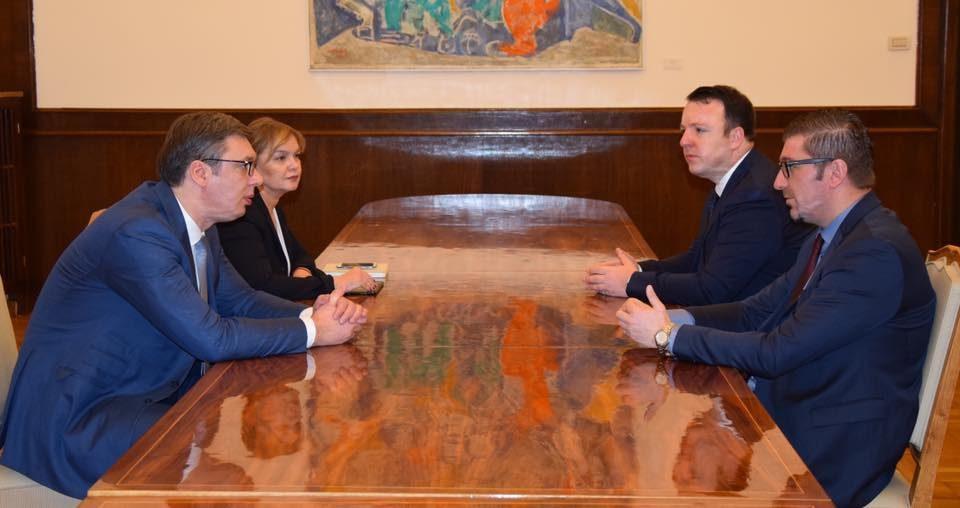 Мицкоски: Со Вучиќ се согласивме дека иднината на Балканот е во прогресивни политичари кои умеаат да ги запазат државните интереси