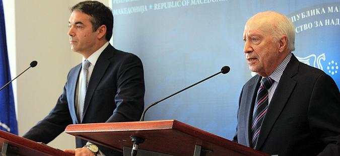 Заев потврди: Идната недела нова средба на Нимиц со Димитров и Коѕијас