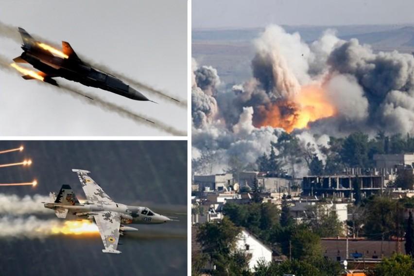 Русите со брутална одмазда за убиството на пилотот: Срамнето со земја упориштето на терористите (ВИДЕО)