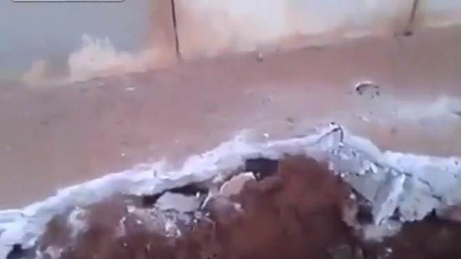 Градежен работник слушнал чудни звуци од под бетонска плоча – кога ја подигнал имал што да види (ВИДЕО)