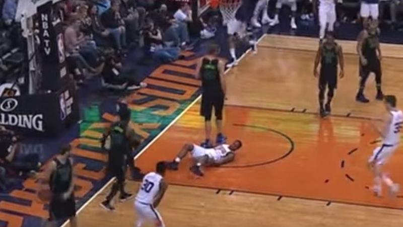 ВОЗНЕМИРУВАЧКО ВИДЕО: Стравична повреда на познатиот кошаркар