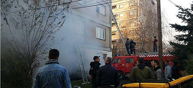 Изгаснат пожарот во Кисела Вода, нема повредени лица