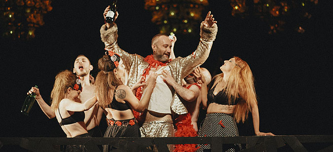 """Премиера на претставата """"Коцкар"""" од Достоевски, во режија на Дејан Пројковски"""
