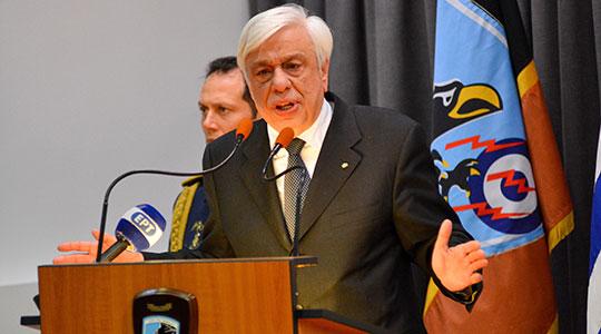 Павлопулос: Името на соседната земја зрачи иредентизам