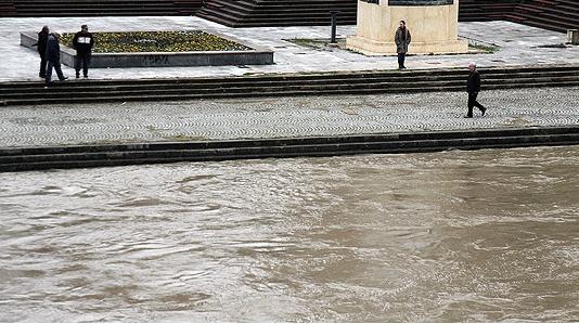 УХМР: Намален водостојот на реките