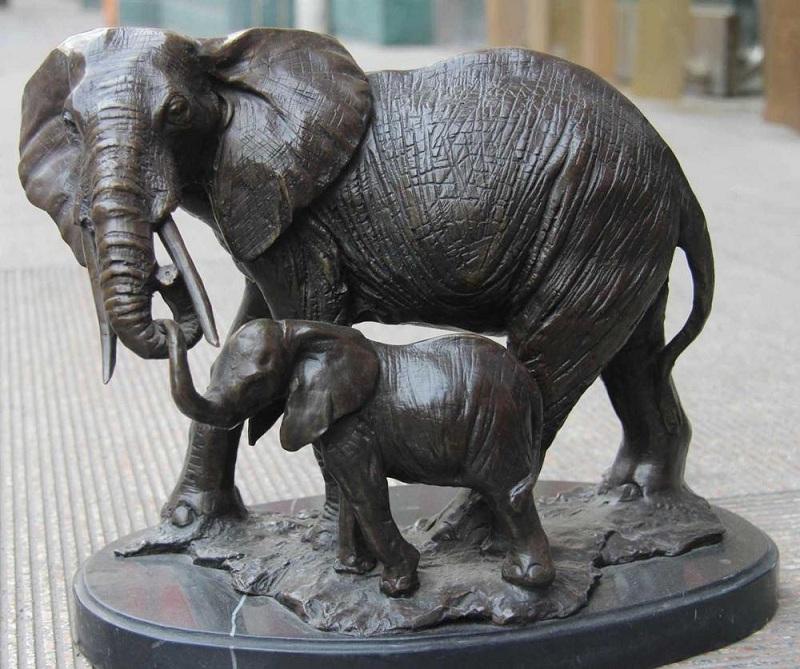 Каде треба да ја поставите фигурата слон во домот?