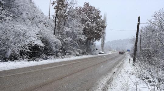 Снегот ја спречи наставата во кривопаланечките села Нерав и Огут