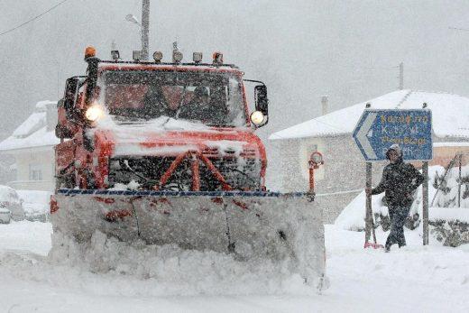 """""""Македонија пат"""": Врнежи од снег надоаѓаат од север, да се вози внимателно"""