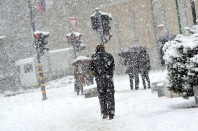 Од утре снег низ цела Македонија- еве колку сантиметри ќе паднат во Скопје