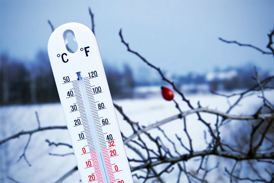 Утрински температури под нулата во цела држава