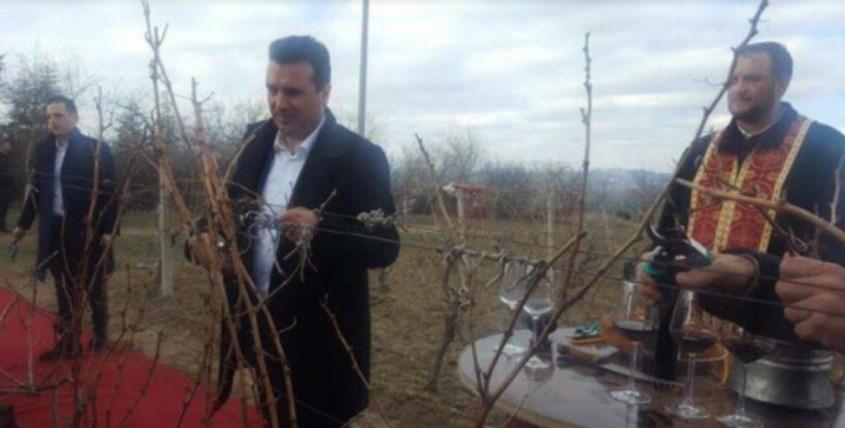 ИМА РАЗЛИКА: Мицкоски со работниците во РЕК, Заев на црвен тепих (ФОТО)