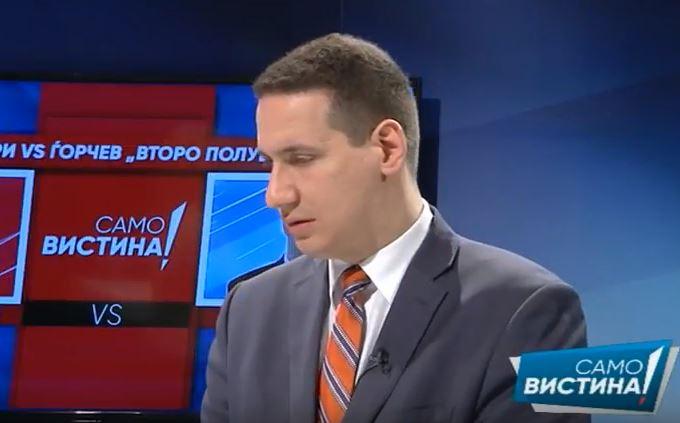 Ѓорчев: Економијата во Македонија е во слободен пад и се влошуваат сите економски индикатори