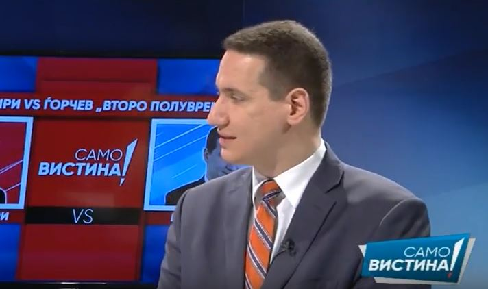 Ѓорчев: СДСМ го носи неуставниот Закон за јазици за да остане на власт, а Македонија ја плаќа сметката за тоа
