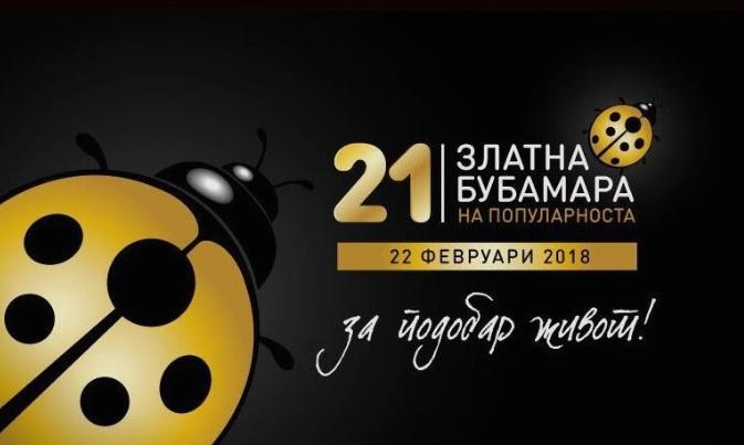 """""""Златна бубамара на популарноста"""" ќе се одржи вечерва: Познати дел од добитниците на награди"""