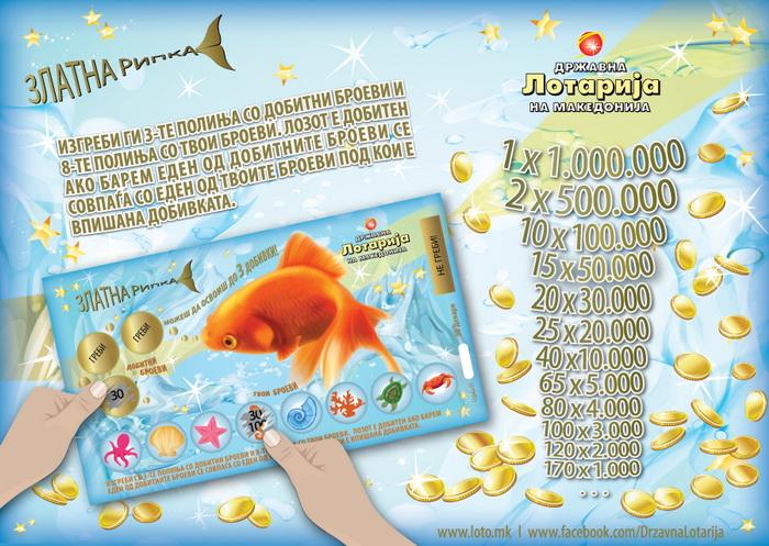 Златна Рипка на Државна лотарија на Македонија остварува желби