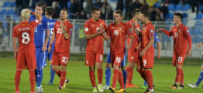 Македонија падна за едно место на новата ФИФА листа