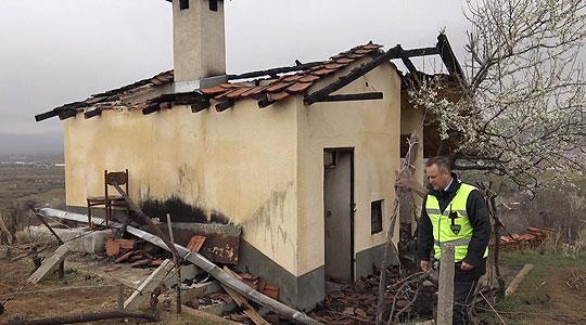 Детали за запалената викендичка на координаторот на ВМРО-ДПМНЕ во Прилеп