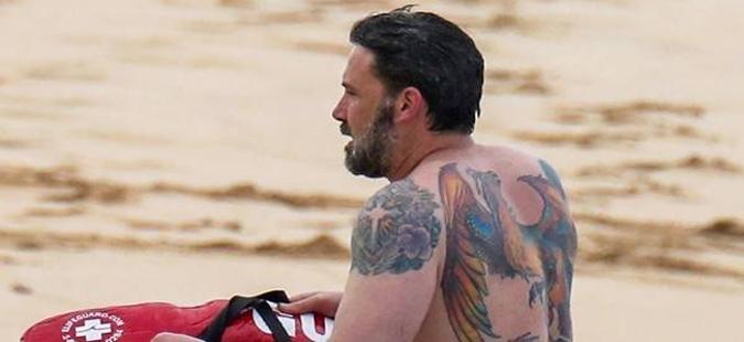 Тетоважата на Бен Афлек- хит на социјалните мрежи (ФОТО)