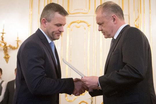 Пелегрини назначен за премиер на Словачка