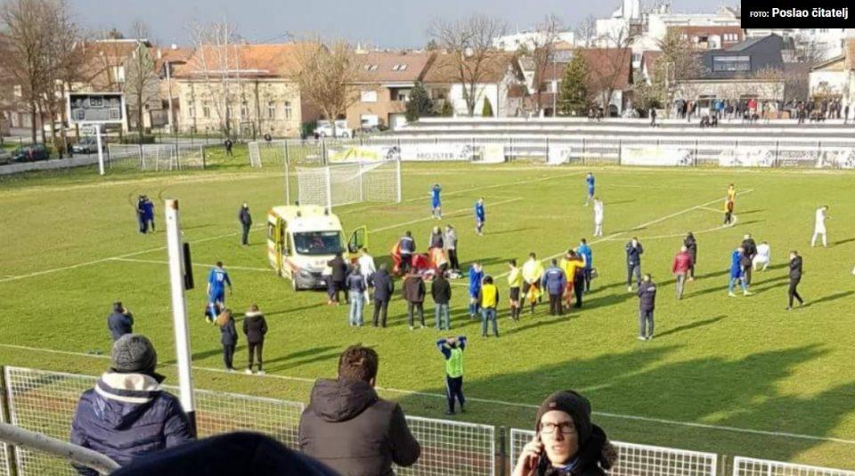 НОВА ТРАГЕДИЈА: Уште еден фудбалер почина среде натпревар- се онесвестил во 7-та минута