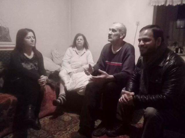 По социјалната сторија за семејството Селмановски, Унијата на жени на ОК ВМРО-ДПМНЕ во посета на нивниот дом