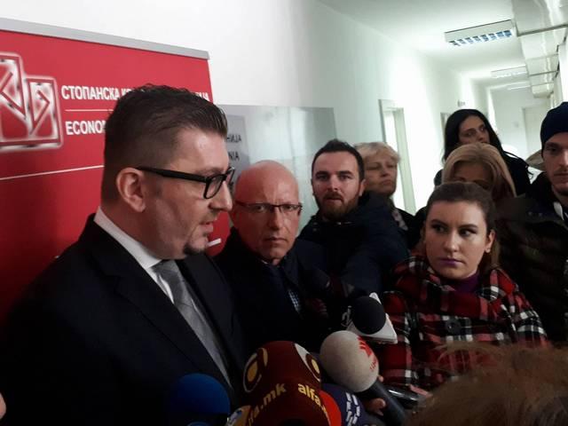 Азески: Му посакувам на ВМРО-ДПМНЕ побрзо враќање на власт