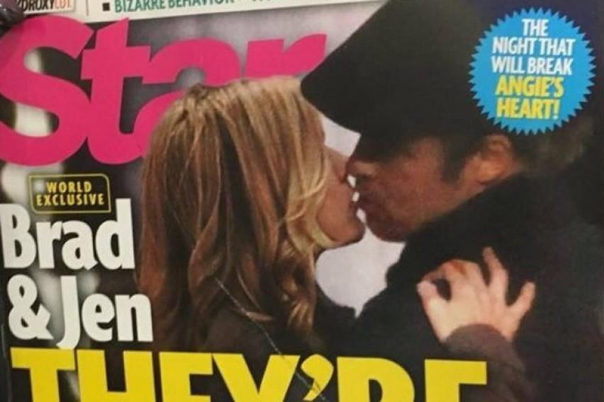 Се разбуди старата љубов: Џенифер Анистон и Бред Пит се бакнуваат прегрнати (ФОТО)