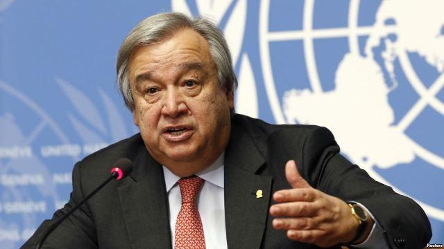 Гутереш на Генералното собрание на ОН ќе се заложи за општо помирување во светот до крајот на годината