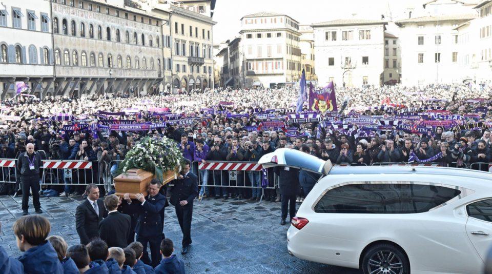 """ФОТО: Италија се збогува од Астори – """"Засекогаш наш капитен #13"""""""