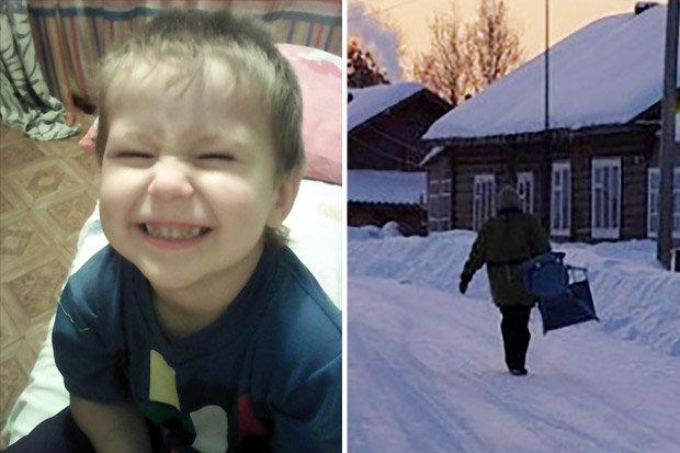 ТРАГЕДИЈА: 4 годишно дете не го преживеа сибирскиот студ, месечарело на -20, мајката го нашла дури утрото