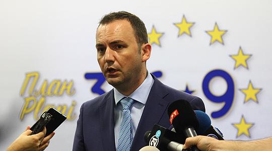 Османи оствари средба со дипломатските претставници на земјите членки на ЕУ