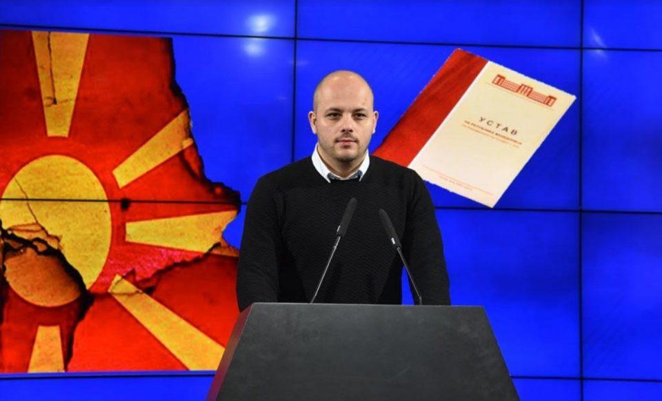 Костовски: Секој обид да се прескокне потписот на претседателот Иванов ќе биде нелегален (ВИДЕО)