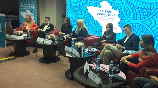 Дескоска на Почетниот состанок на Алумни асоцијацијата од Западен Балкан
