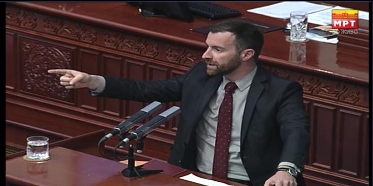 Димовски до Џафери: Како планирате да се одржуваат пратенички прашања кога пола Влада ја нема во Собранието?