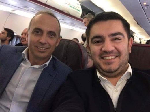 """Мафијашки пречек во Кабинетот на Бектеши: Дехари го потсетил уредникот на """"Журнал"""" Муслију дека има семејство"""