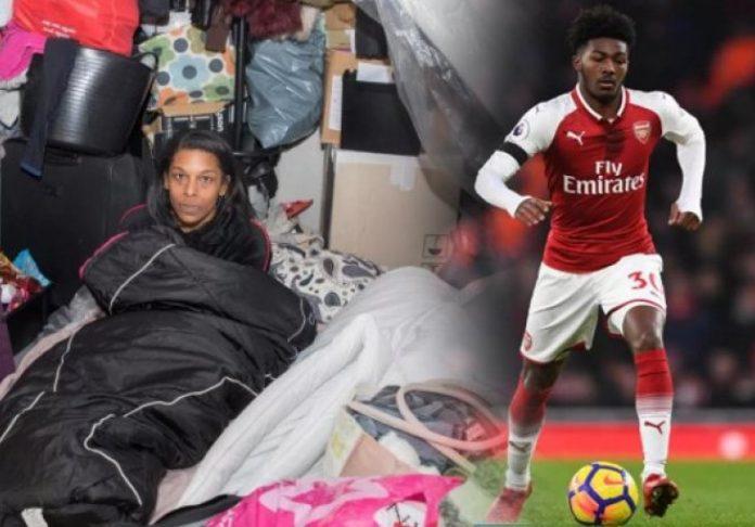 Младиот фудбалер заработува милиони, а неговата мајка е бездомник и спие во контејнери