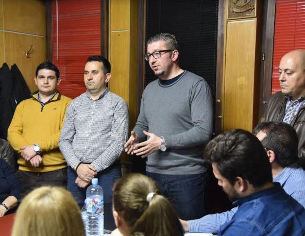 Мицкоски: Црното економско трио Заев, Тевдовски и Анѓушев прават пустош во македонската економија