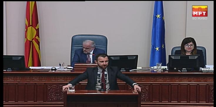Димовски: Собранието е свесно дека носи неуставен закон, пратениците знаат дека кршат Деловник
