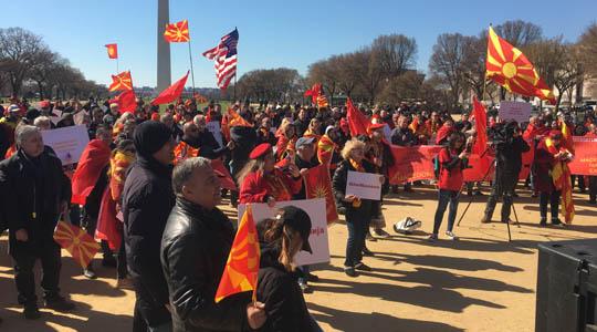 """""""Ние сме Македонија""""-Иселениците протестираат против промена на уставното име"""