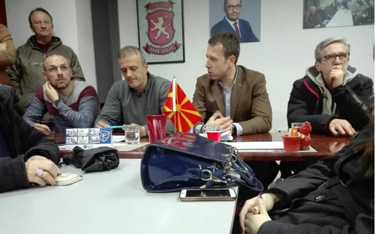 Генералниот секретар на ВМРО-ДПМНЕ, Игор Јанушев, на работни средби низ Македонија (ФОТО)